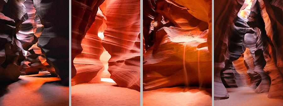 Antelope Canyon Chambers  by Howard Bagley