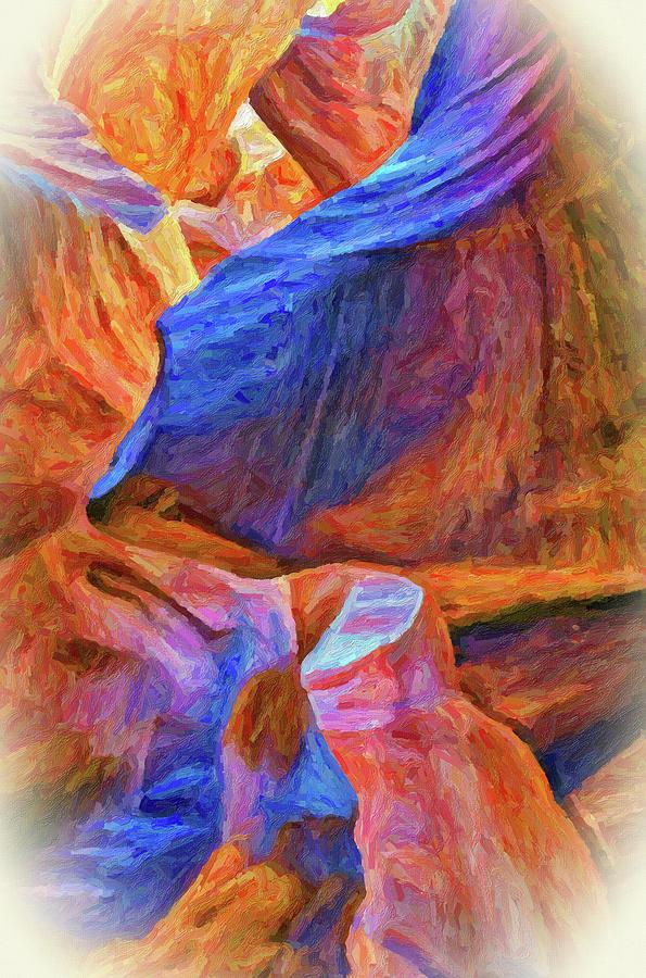 Antelope Canyon 2 by Winnie Chrzanowski