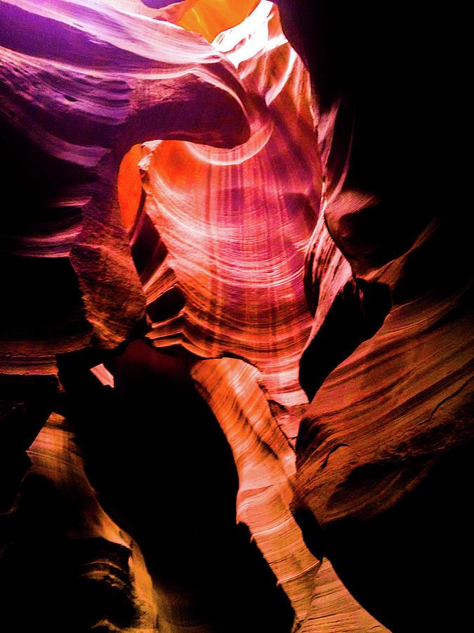 Antelope Canyon II by George Harth