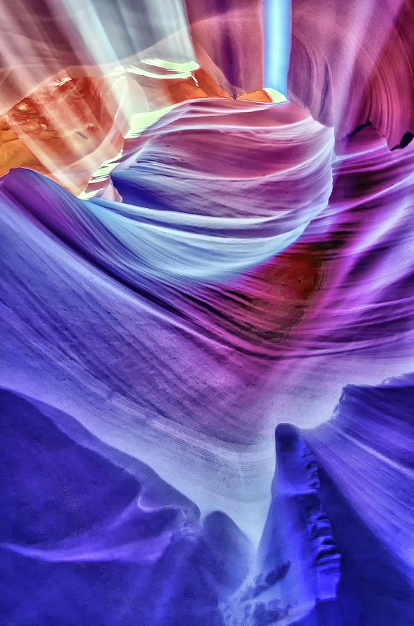 Antelope Canyon  by Winnie Chrzanowski