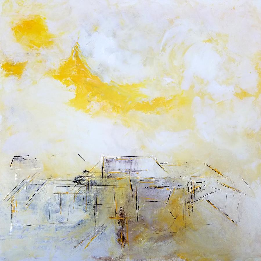 Abstract Painting - Anthem For The Individual by Linda Wimberly