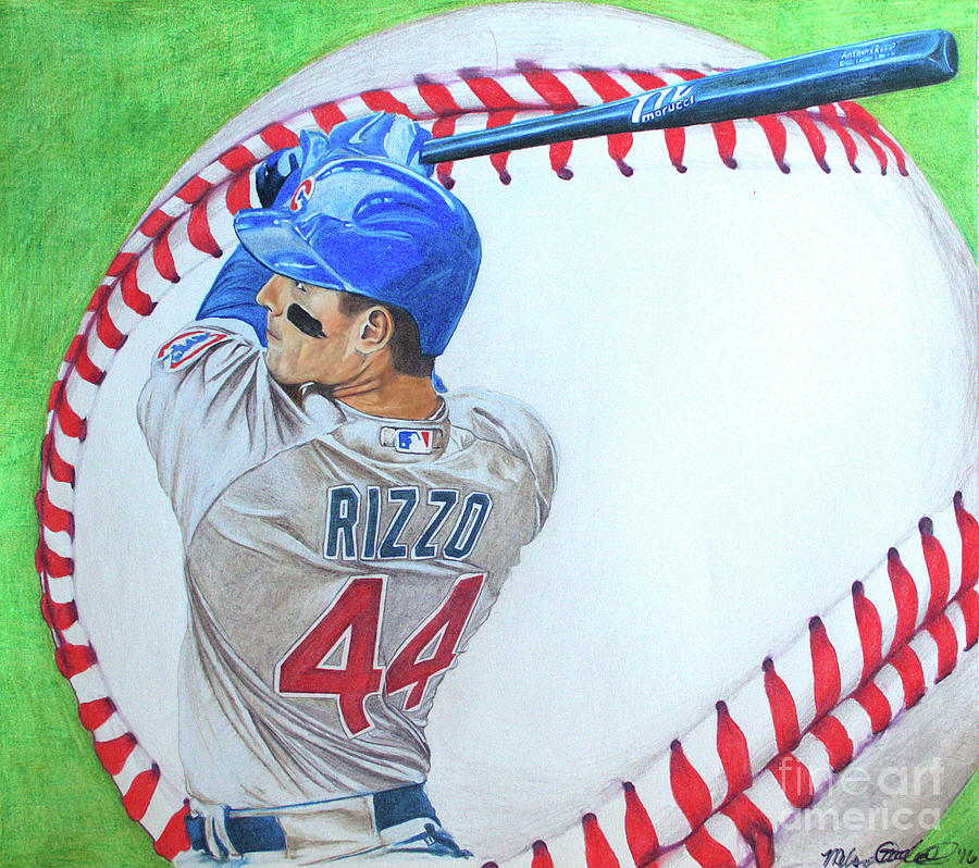Anthony Rizzo 2016 by Melissa Jacobsen