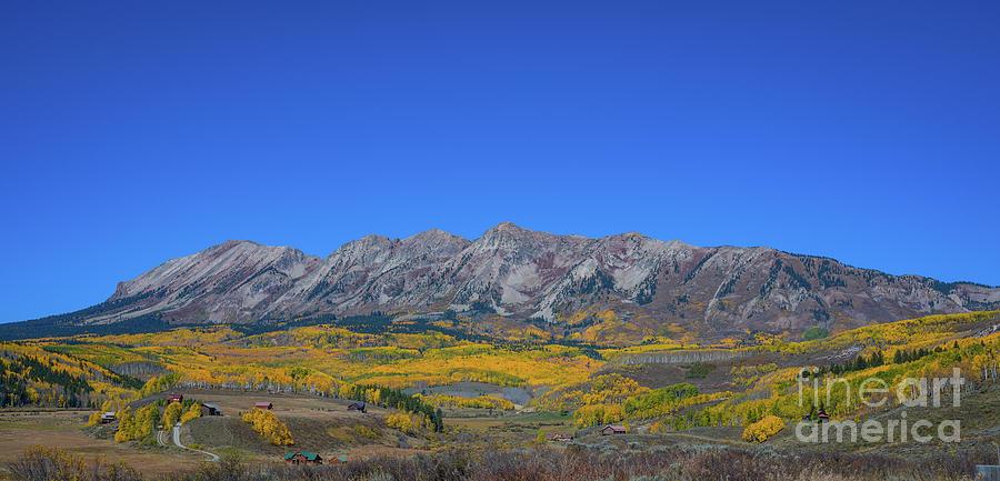 Anthracite Range In Autumn Photograph
