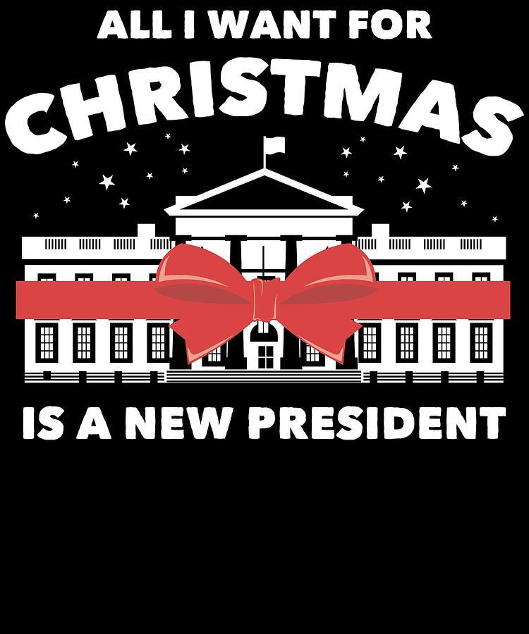 d95e63c0c Anti Donald Trump Christmas Edition Vote For Dems Dark Digital Art ...