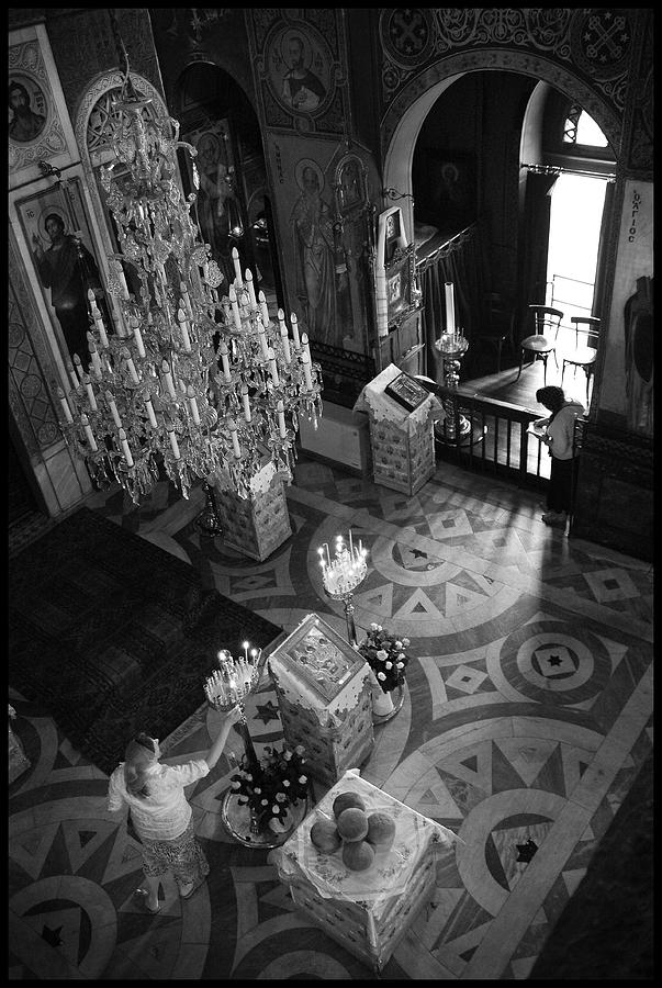 Orthodox Church Photograph - Anticipating The Feast by Julia Bridget Hayes