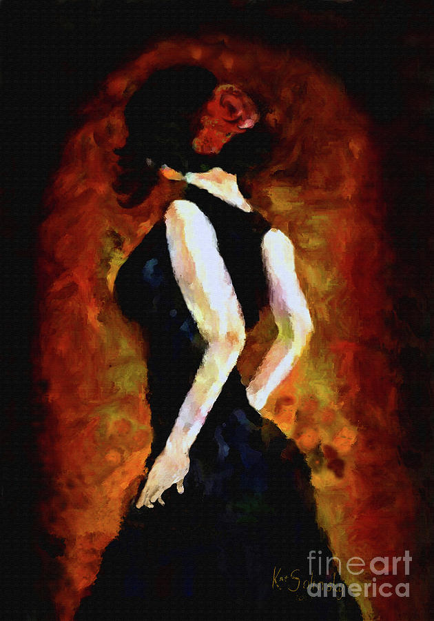 Kat Solinsky Painting - Anticipation by Kat Solinsky