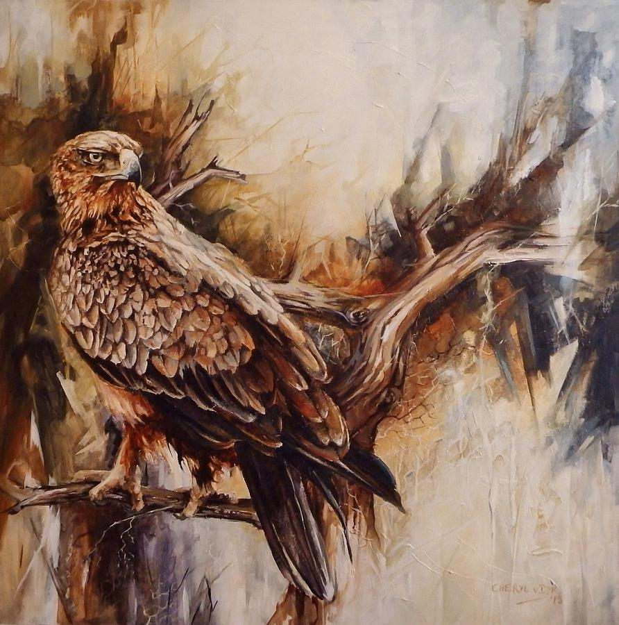 Expressionism Painting - Anticipation Of Flight by Cheryl Van Dyk