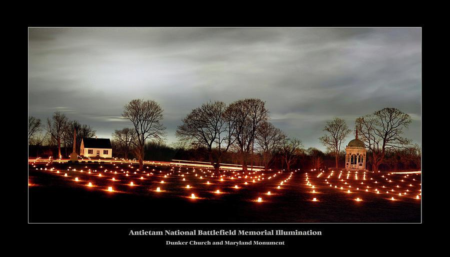 Antietam Battlefield Photograph - Antietam Panorama by Judi Quelland