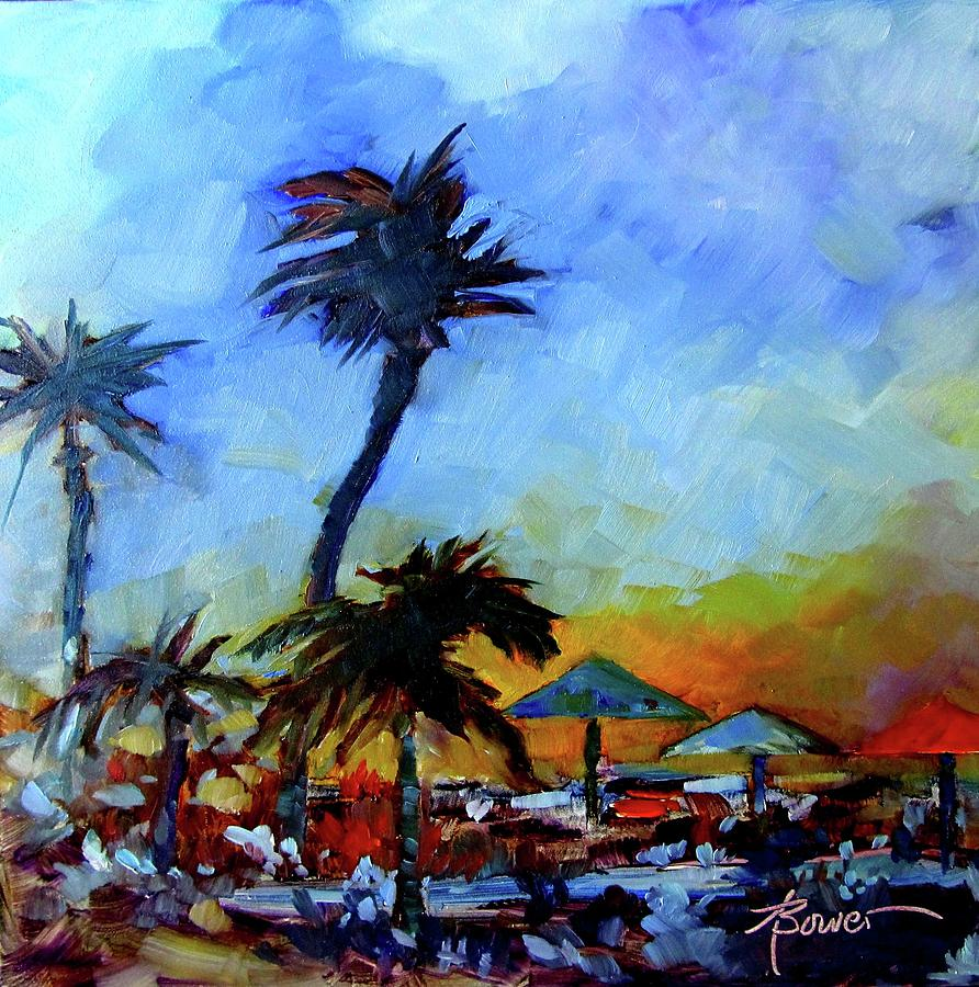 Antigua Evening  by Adele Bower