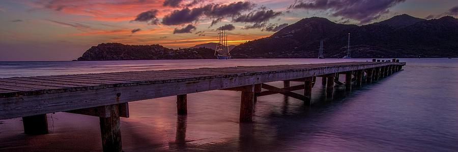 Antigua evening by Gary Felton