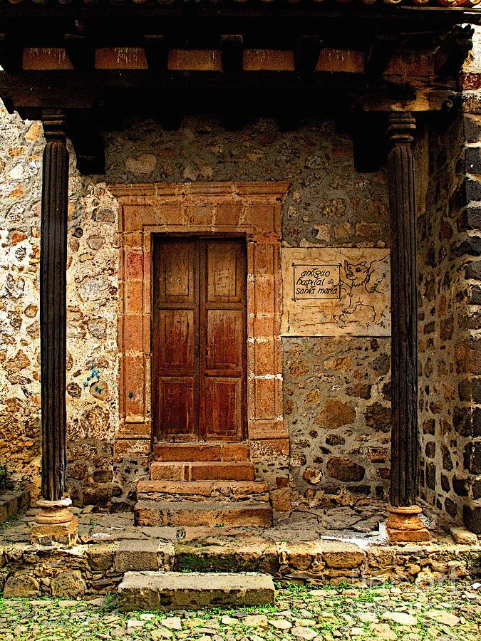 Patzcuaro Photograph - Antiguo Hospital De Santa Maria by Mexicolors Art Photography