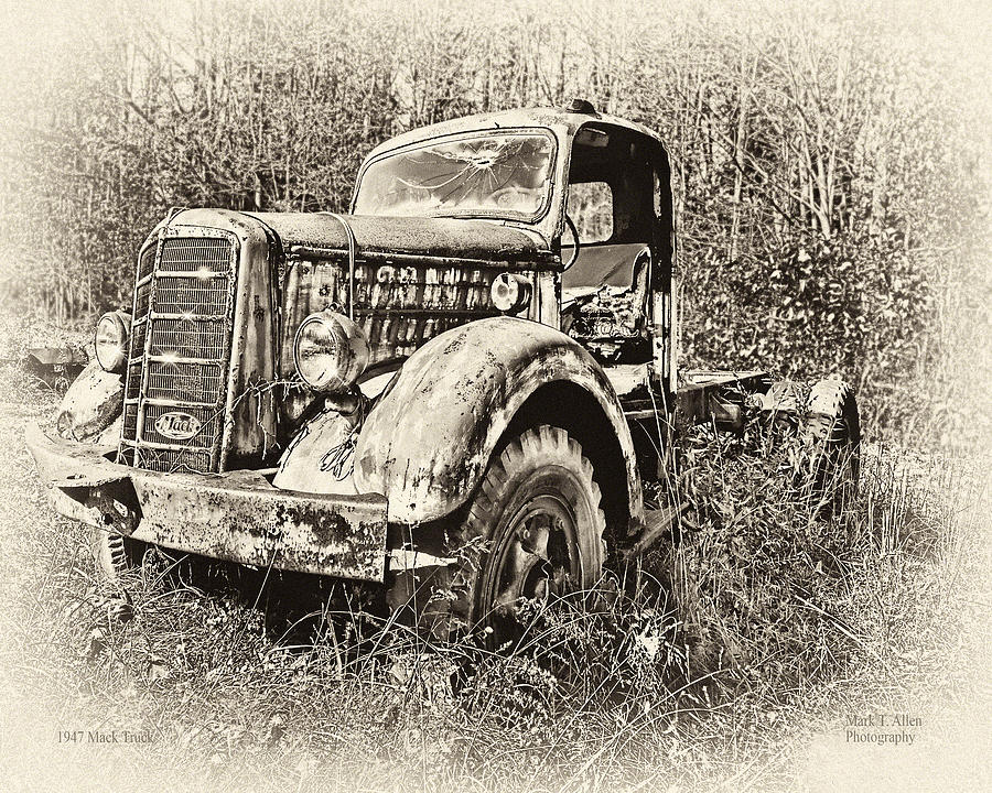 Antique 1947 Mack Truck by Mark Allen