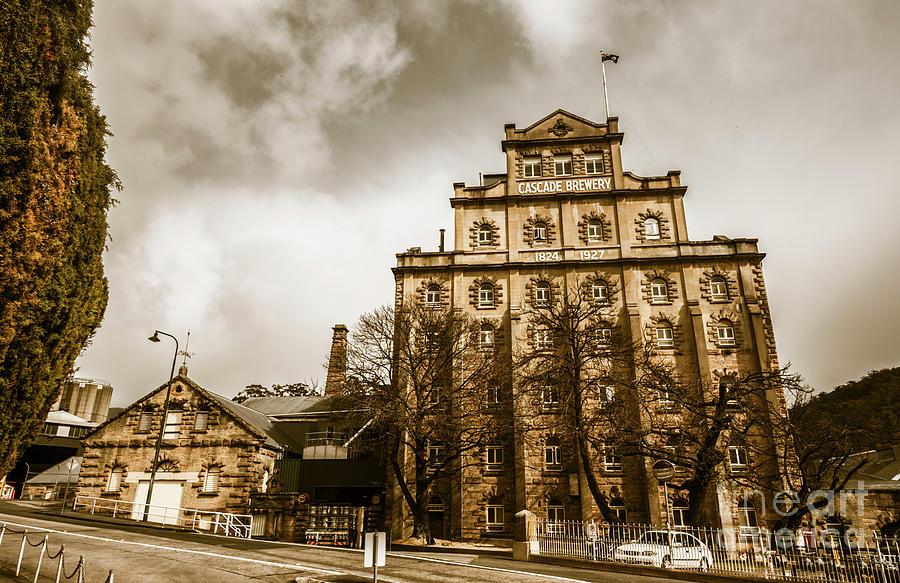 Building Photograph - Antique Australia Architecture by Jorgo Photography - Wall Art Gallery