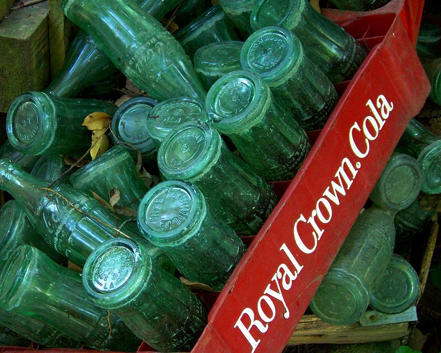 Bottles Photograph - Antique Bottles by Jai Johnson