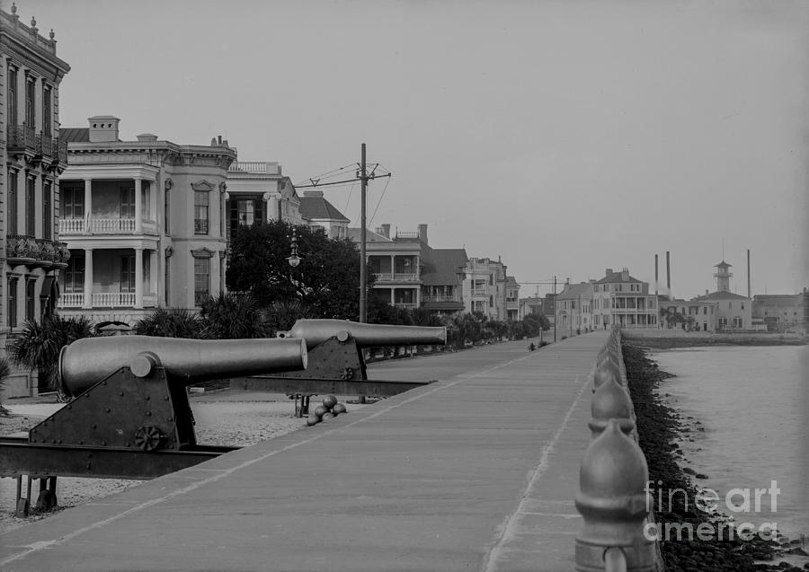 Charleston Battery In 1906 Photograph