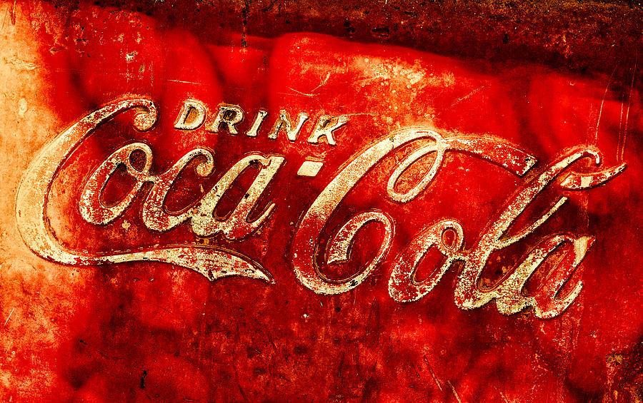Ice Box Photograph - Antique Coca-cola Cooler by Stephen Anderson