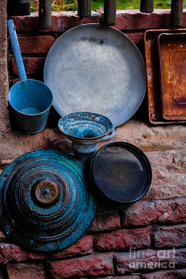 Antique Cookware by Gary Keesler