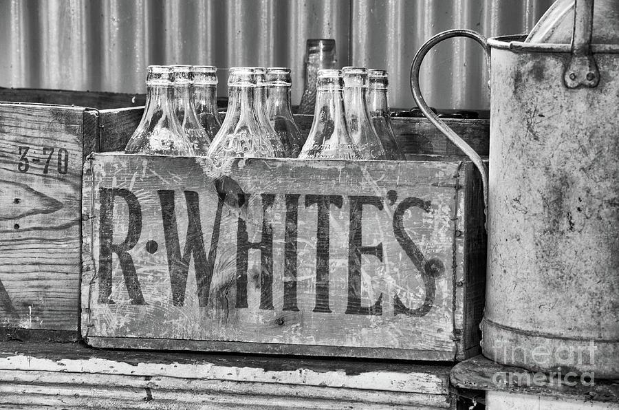 Lemonade Photograph - Antique Lemonade by Steev Stamford