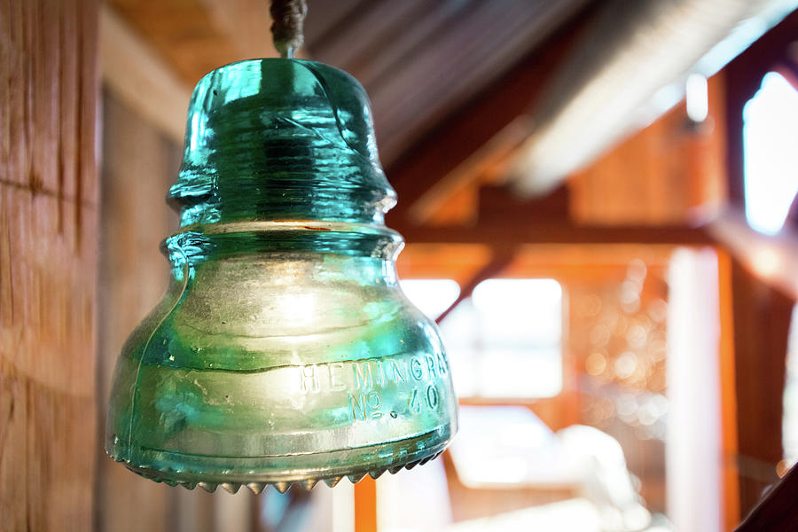 Light Fixture Photograph - Antique Light Fixture 5 by Steven Jones
