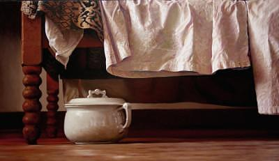 Antique Painting - Antique Linens by Randy Ford