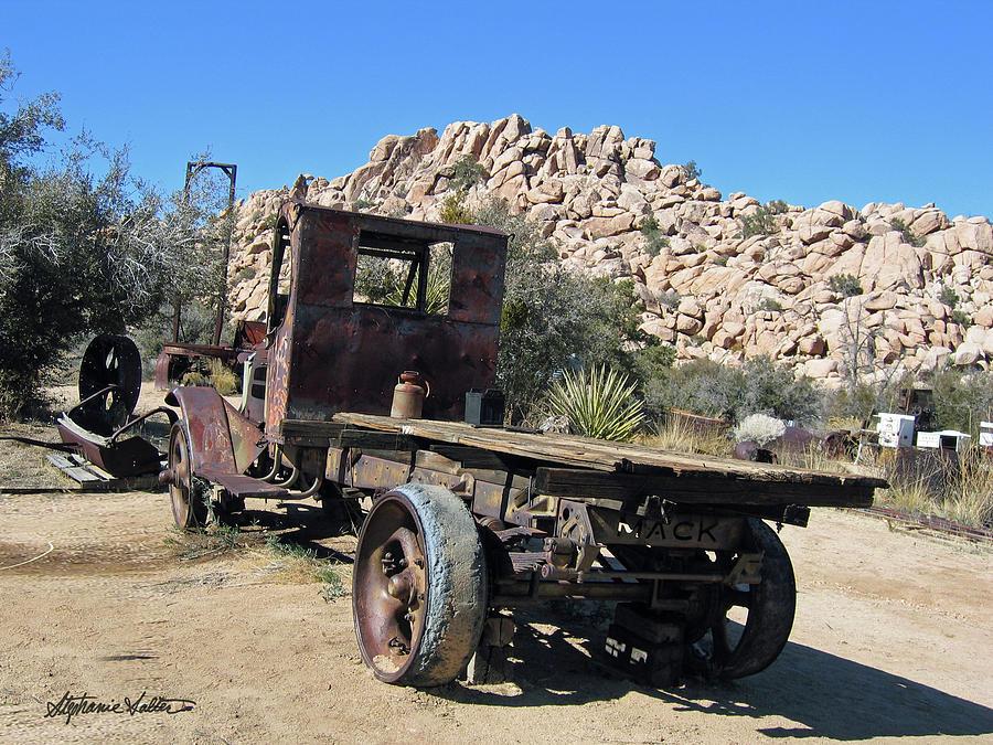 Antique Mack by Stephanie Salter
