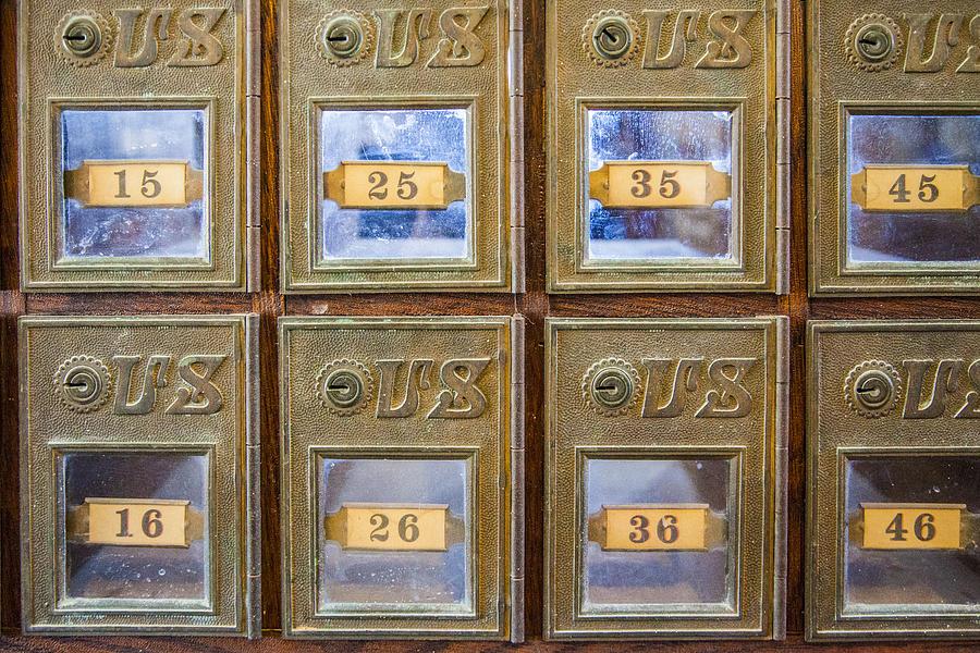 Antique Mailbox Color by Kathy Adams Clark