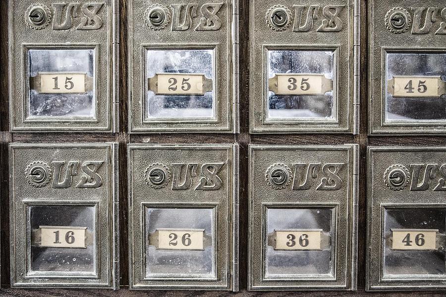 Antique Mailbox by Kathy Adams Clark