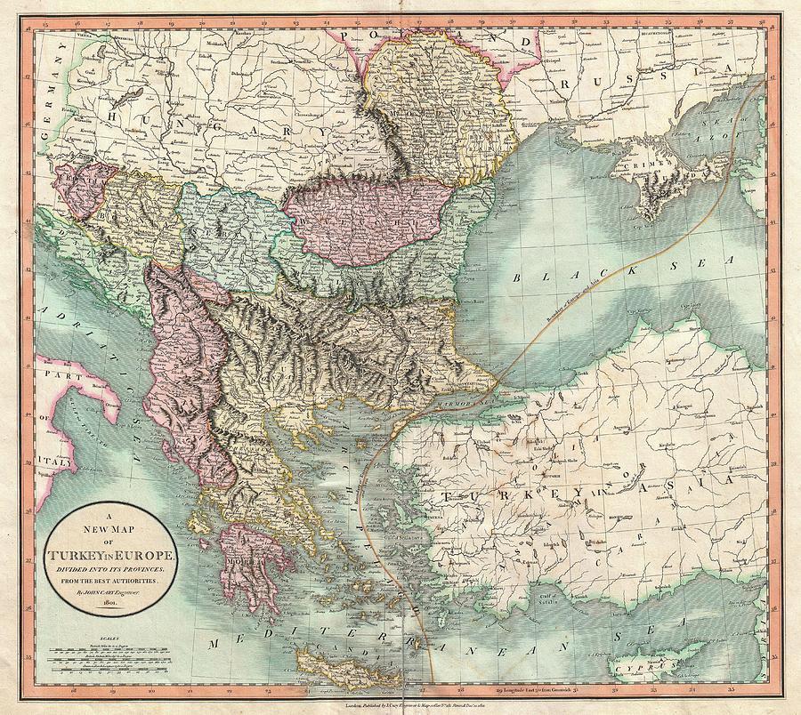 Antique Maps of Greece