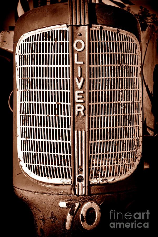 Oliver Photograph - Antique Oliver 70 by Olivier Le Queinec