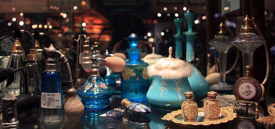 Antique Perfume Bottles Photograph By Joanne Coyle