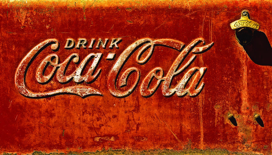Ice Box Photograph - Antique Soda Cooler 3 by Stephen Anderson