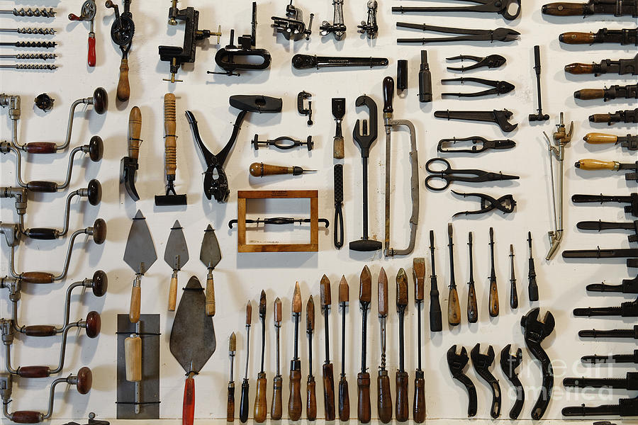 Antique Tools Photograph By John Greim