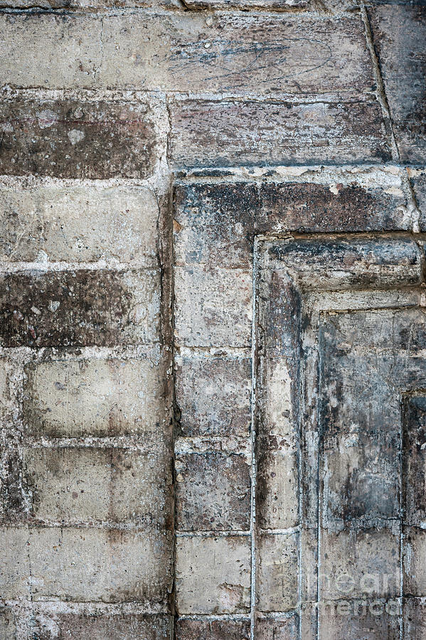 Brick Photograph - Antique Wall Detail by Elena Elisseeva