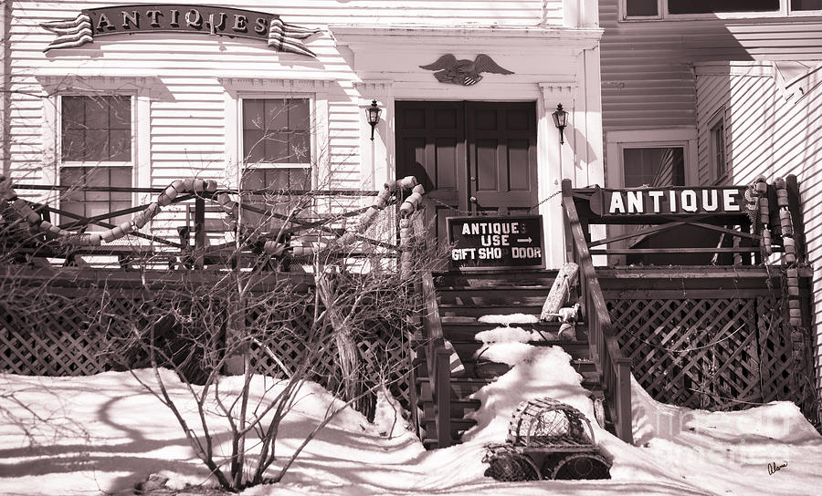 Old Home Photograph - Antiques For Sale by Alana Ranney