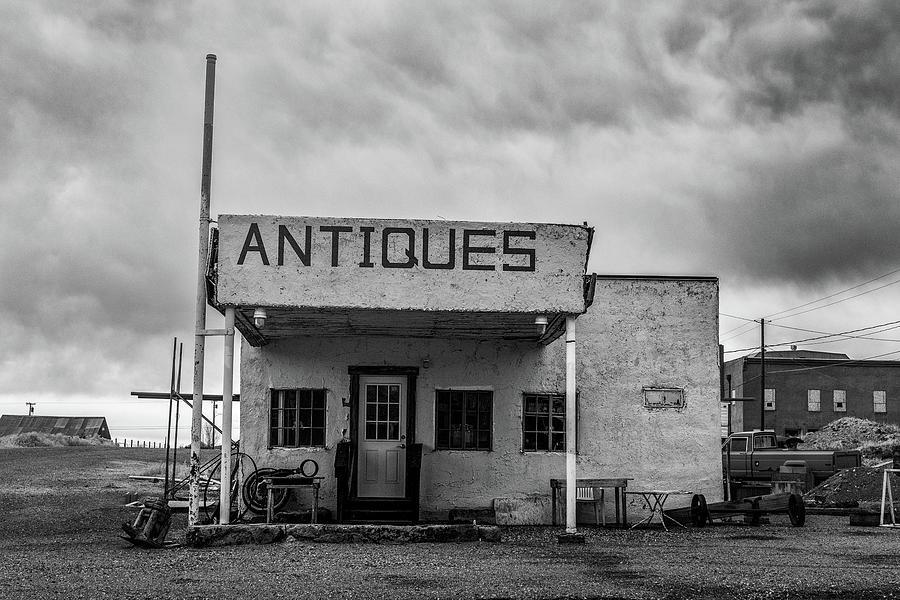 Building Photograph - Antiques by Joseph Smith