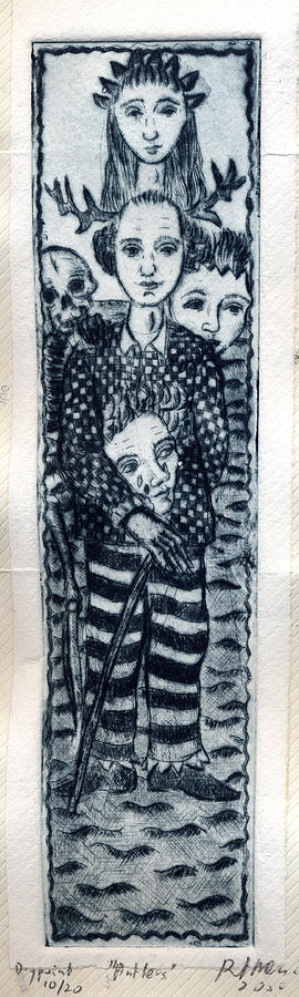 Metaphorical Print - Antlers by Bert Menco