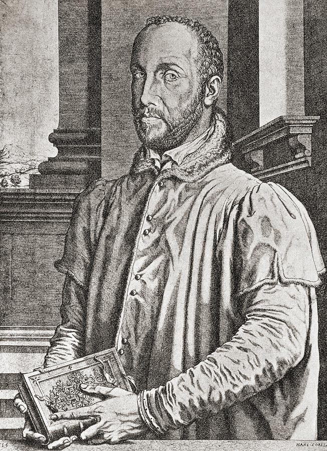 Portrait Drawing - Antoine Perrenot De Granvelle, 1517 To by Vintage Design Pics