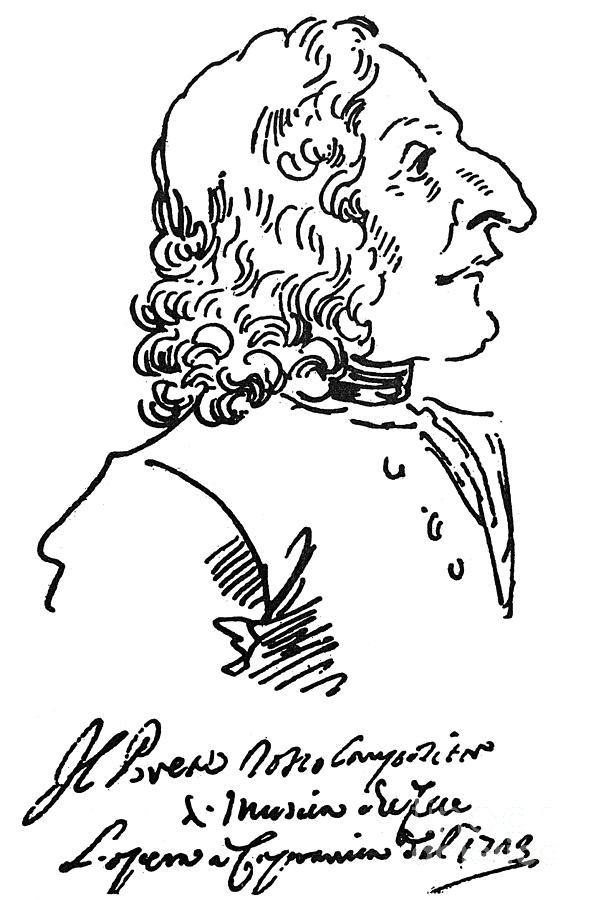 18th Century Photograph - Antonio Vivaldi (c1675-1741) by Granger