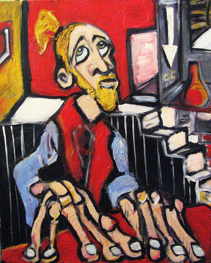 Surrealism Painting - Anxiolytic  by Jon Baldwin  Art