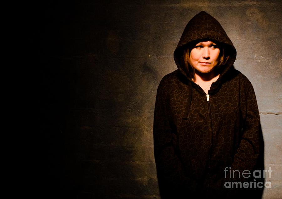 Portrait Photograph - Anxious by Aaron Carr