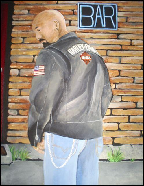 Bar Painting - Any Bar Will Do by Michelle Williams