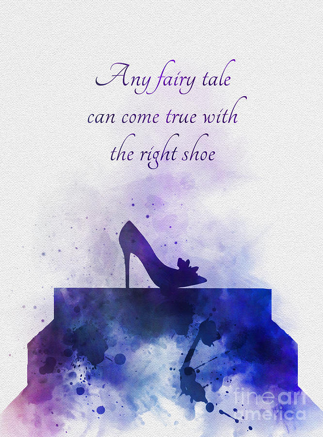 Cinderella Mixed Media - Any Fairy Tale Can Come True by My Inspiration