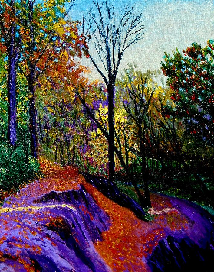 Twilight Painting - Ap 10 26 by Stan Hamilton