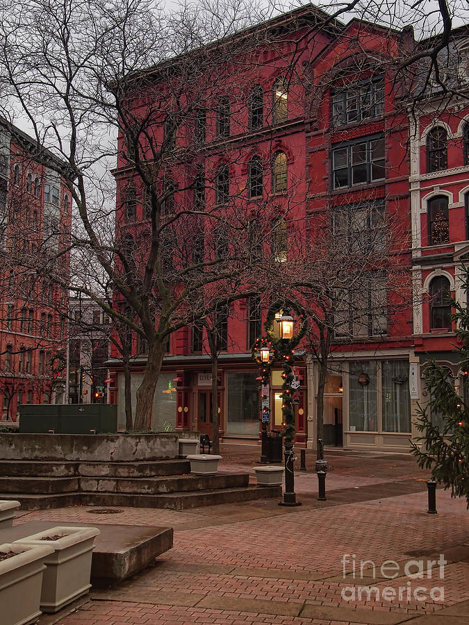 Hanover Square Photograph - Apartment Building by Debra Millet