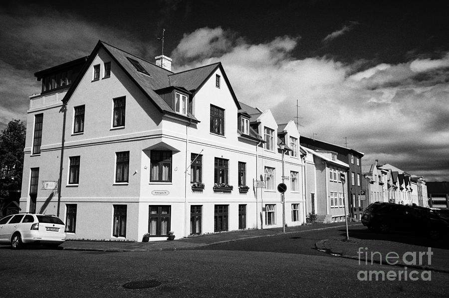 Fine Apartment Buildings And Traditional Houses In Ranargata Reykjavik Iceland Download Free Architecture Designs Xoliawazosbritishbridgeorg