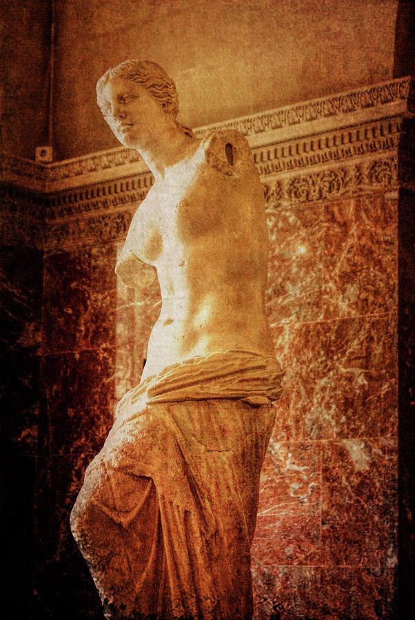 Paris Photograph - Aphrodite Of Milos by JAMART Photography