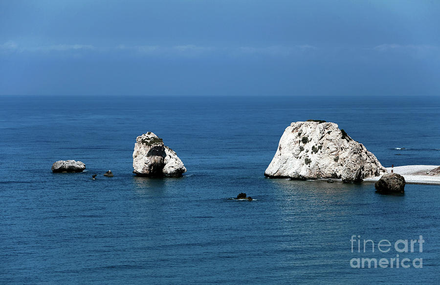 Rocks Photograph - Aphrodites Rocks by John Rizzuto