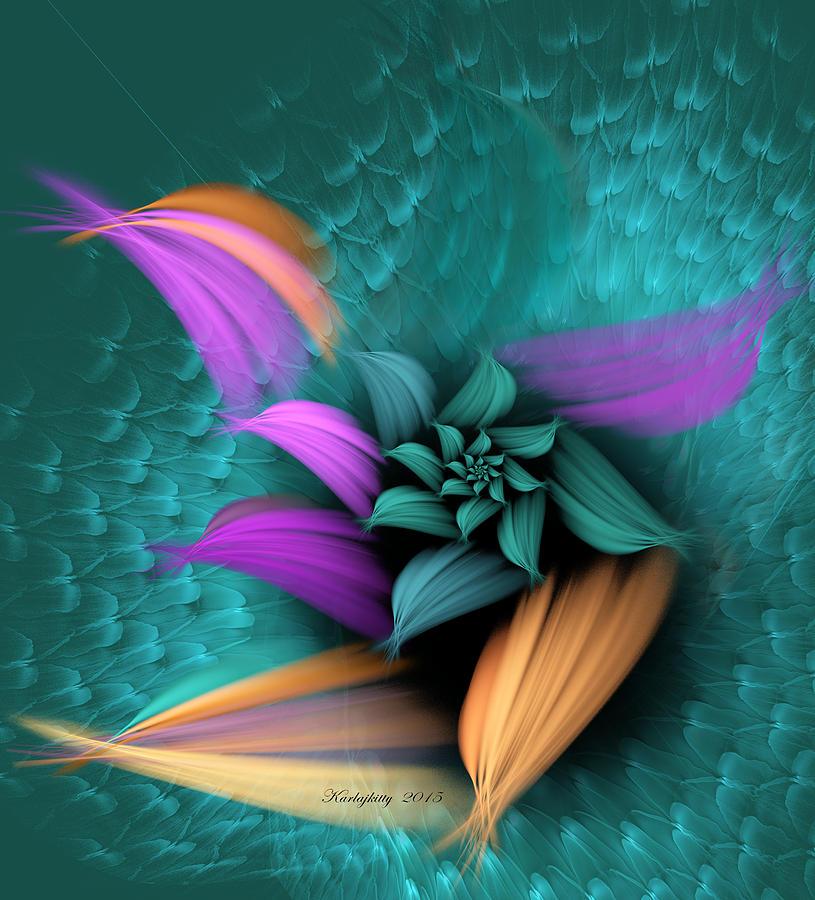 Apo Flower by Karla White