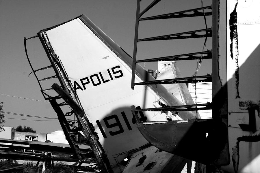 Airplane Photograph - Apolis by David S Reynolds