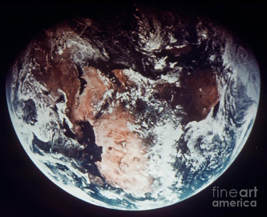 1970s Photograph - Apollo 11: Earth by Granger
